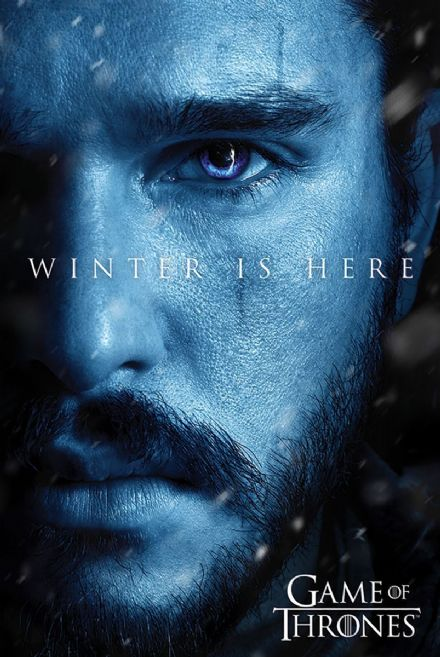 Game Of Thrones Winter is Here Jon Snow 61x91,5cm Movie Poster